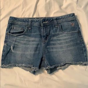 Justice brand jean shorts